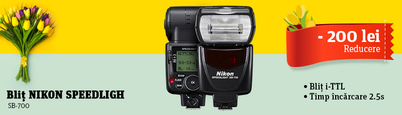 200 lei reducere la blitul Nikon SB-700