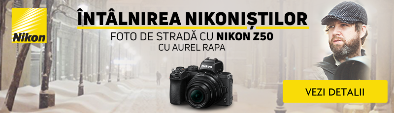 Vino la intalnirea Nikonistilor si testeaza noul Nikon Z50