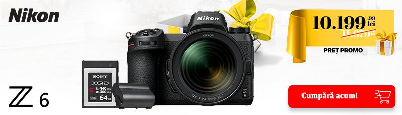 1479.98 lei reducere la pachetul special Nikon Z6