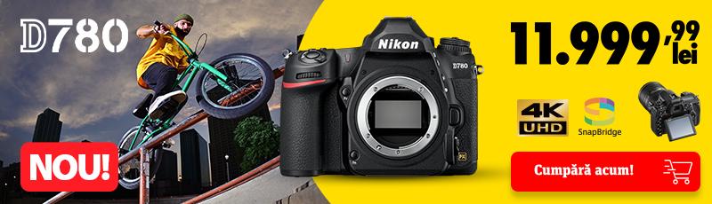 NOU! Nikon D780 body este acum in stoc!