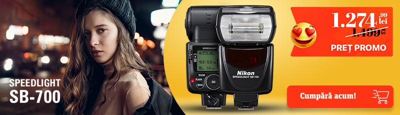 225 lei reducere la blitul Nikon SB-700
